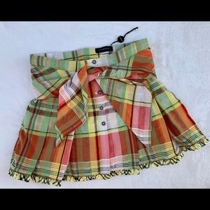 Girl's BURBERRY Skirt Kid size: 8 NEW Plaid Pleats